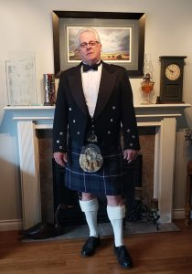 Dave McRae, President of the Clan MacRae Society of Canada